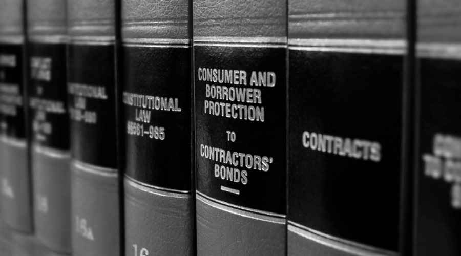 Law Books BW Cut