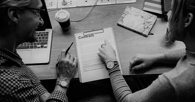 Legal Contract BW