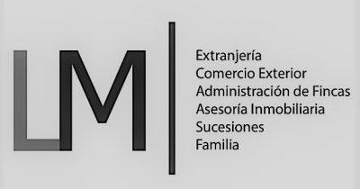 Logo LM arrow Square BW